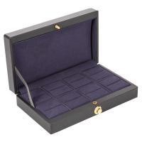 China Custom retail Leather Storage Case custom jewelry boxes wholesale for sale
