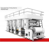 Wholesale Water Based Ink High Speed Flexographic Printing Machine 1200mm Max Material Dia from china suppliers