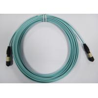 OM3 / OM4 MPO Fiber Optic Patch Cord for Active Device Termination