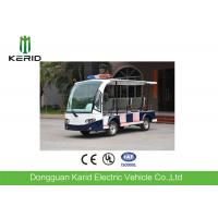 China 8 Seater Battery Powered Electric Patrol Car , Public Security Car 48V 4KW Green Energy on sale