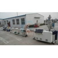 Best PERT Floor Heating Plastic Pipe Extrusion Line , PPR Cold and Hot Pipe Machinery wholesale