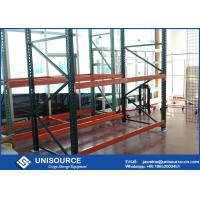 Wholesale Warehouse Teardrop Pallet Rack System Easy Assembly Heavy Duty Metal Shelving from china suppliers