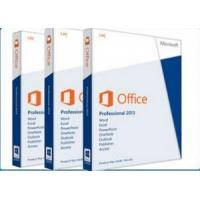 China Retail Full Version Microsoft Ms Office 2013 Professional Software For 1 User for sale