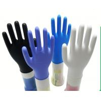 Wholesale Durable Non Sterile Disposable Nitrile Gloves Powder Free 240mm Length from china suppliers