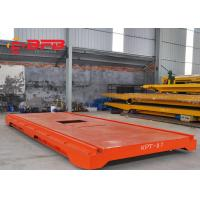Wholesale Industrial Material Transfer Carts , Dragged Cable Powered Motorized Transfer Trolley from china suppliers