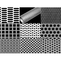 Wholesale Square Hole Galvanized Perforated Metal Mesh , aluminum from china suppliers