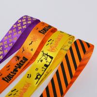 Wholesale 100% Polyester Printed Grosgrain Ribbon for sale