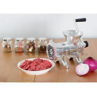 Wholesale Heavy Duty Manual Meat Grinder Machine Aluminum With Carbon Steel Knife #32 from china suppliers