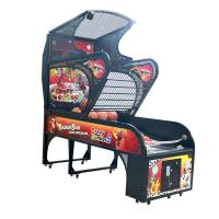 Wholesale Crazy Dunker Arcade Basketball Hoop Game Machine , Kids Indoor Basketball Shooting Machine from china suppliers