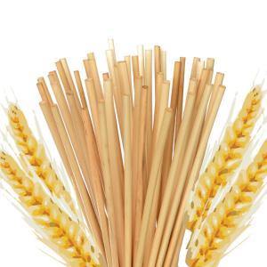 China Natural Yellow Biodegradable Paper Drinking Straws Oeganic Gluten Free on sale