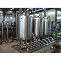 Best Semiauto CIP Cleaning System 500L Tank For Dairy / Beer / Beverage Processing Line wholesale