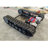 Wholesale Black Rubber Track Undercarriage Chasiss 1-10T For Construction Equipment Spare Parts from china suppliers