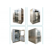 Wholesale Interlock Double Swing Door SUS201 Cleanroom Air Shower from china suppliers