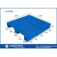 Wholesale 4 Way Single Faced Plastic Storage Pallets 1210 Plastic Roll Ship Blue / Orange from china suppliers