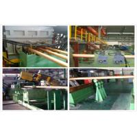 Best Hydraulic Copper Continuous Casting Machine Water Cooling For 300 mm Brass Pipes wholesale