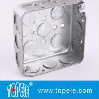 Wholesale TOPELE 52151 / 52161 / 52171 Galvanized Steel Square Electrical Outlet Box from china suppliers