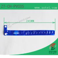 Wholesale RFID one-time PVC wristband tag (LF/HF/UHF, Product Type:ZT-CH-PVC05) from china suppliers