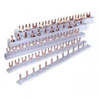 China Tinned Comb-type U Type MCB Copper Bus Bar Low Power Consumption on sale