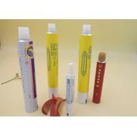 Wholesale Aluminum Printed Tube Packaging For Ointment Cream / Gel Screw Cap from china suppliers