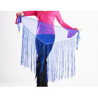 Buy cheap Shinning Sequins Hip Scarf For Belly Dancing / Long Fringes Belly Dance Hip from wholesalers