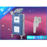 Vertical HIFU Ultrasound Machine Face Lifting Equipment 30W with 1.5mm & 3.0mm & 4.5mm for sale