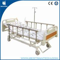 Wholesale Three Functions Electric Hospital Beds With 6 - rank Al - Alloy Side Rails from china suppliers