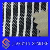 China Polyester Striped Nylon Oxford Fabric , Nylon Cotton Oxford Cloth Fabric on sale