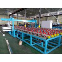 Wholesale Horizontal Automatic Glass Seaming Machine , Four Side Glass Processing Plant from china suppliers