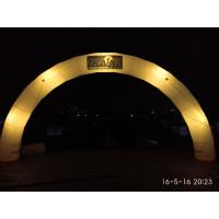 Wholesale Amazing Giant Round lighting Inflatable Arch with Logo For Night Party, Event from china suppliers