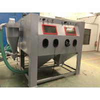 Wholesale Pressure Sand Shot Blasting Cabinets Large Machine With Separartor And Dust Collector Connected from china suppliers