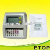 Quality Mini Multi Currency Money Detector For Usd, Eur, Gbp, Jpy, Hkd, Cny for sale