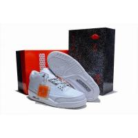 Quality 2012 New Mens Air Jordan 3 Sneakers Shoes all white for sale