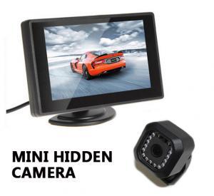 Best Black Sony CCD MINI Hidden 700TVL IR Night Vision Car  Box Camera wholesale