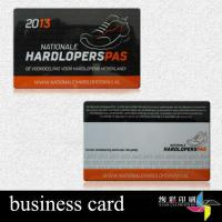 Embossed Number 13.56 MHZ RFID Contactless Smart Cards For Shop for sale