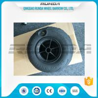 Wholesale No Axle Pneumatic Wheelbarrow Wheels Puncture Resistant PVC 230mm*115mm from china suppliers
