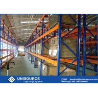 Wholesale Commercial Heavy Duty Pallet Shelving Powder Coated With Wire Mesh Cage from china suppliers