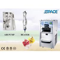 Countertop Automatic Soft Ice Cream Vending Machine Single Phase 3 Flavors for sale