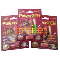 China Effective Natural Herbal Sex Pills , PRO Plus Powerzen Male Endurance Pills on sale