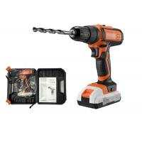 China LED Power Indicator Rechargeable Electric Drill , Lithium Battery Power Drill Deals for sale
