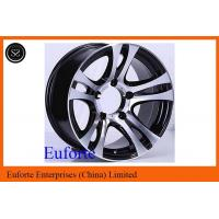 Buy cheap 15 x 8 Double Spokes Off Road Black Wheels 16inch Black Suv Rims from wholesalers