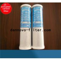 Buy cheap NSF Certificated 10'' CTO Carbon Block Water Purifier Filter Cartridge from wholesalers