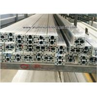 China T Slot / Slotled Aluminum Alloy Industry Extrusion Profiles For Industry Assemble on sale