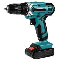 China Faster Charger Handheld wireless electric Cordless Drill , Accident Proof Impact battery Power Tools drill for sale