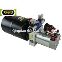 Wholesale DC 12V 210Bar Horizontal Mounting Hydraulic Power Unit for Sideloader Trucks from china suppliers