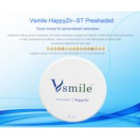 China preshaded ST dental zirconia ceramic implants blocks for dental laboratory Vita 16 shaded on sale