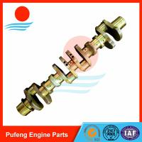 Wholesale OEM crankshaft supplier for Kato excavator, 6D24 6D24T crankshaft ME996148 for excavator HD2045/HD1403 from china suppliers