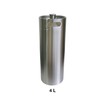 Wholesale Weight 1.25kgs Home Brewing Beer 14.5*15.5*36.5cm 4L Nitrogen Coffee Keg from china suppliers