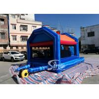 Quality small inflatable bounce house bouncy Castle With Slide Combo Jumper For for sale