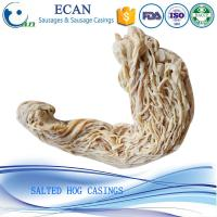 China China 38/40 Caliber Good Quality Natural Hog Sausage Casings,Salted Sausage Casing 40/42 on sale