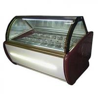 Fan Cooling Ice Cream Freezer Case -16~-22℃ With Digital Temp Controller and 2000mm Length for sale